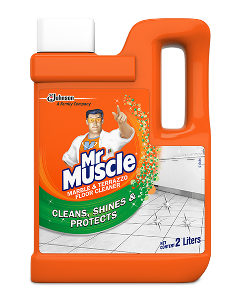 mrmuscle marble terrazzo cleaner