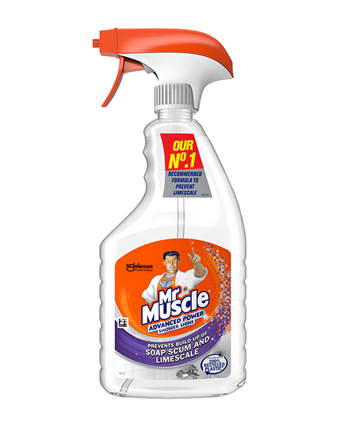 Mr Muscle® Advanced Power Shower Shine