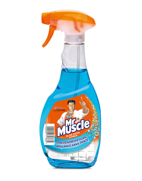 Glas total 5in1 reiniger mr muscle for Mr muscle idraulico gel