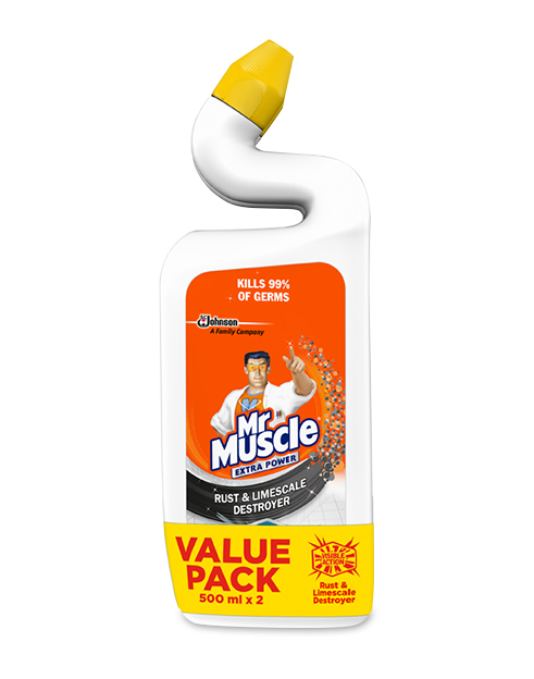 mrmuscle extra power rust limescale 2pck